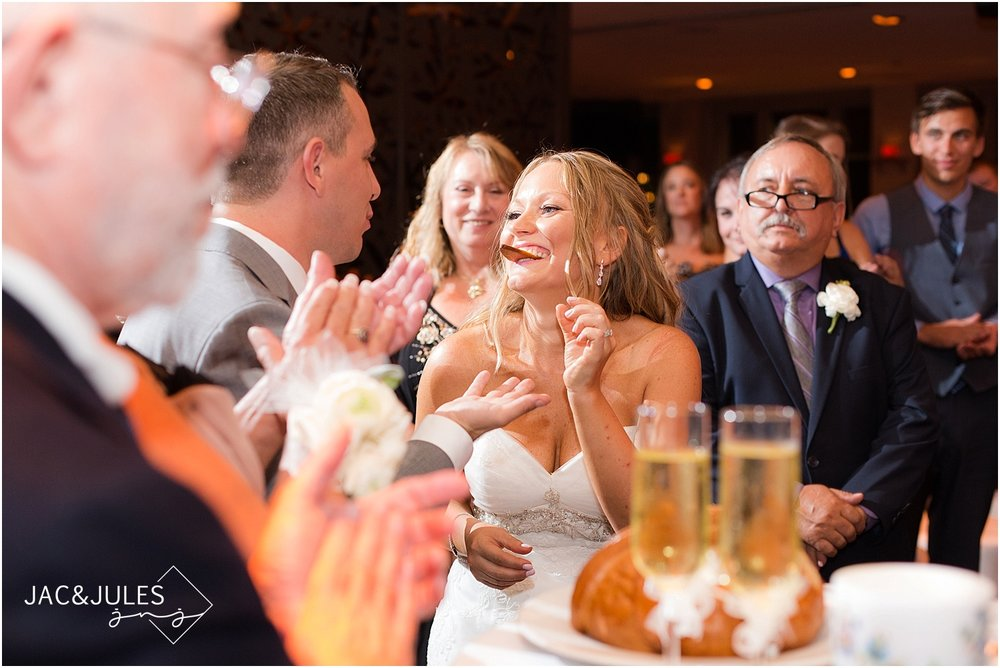 jacnjules photographs a Polish tradition during a wedding at Le Club Avenue in Long Branch, NJ