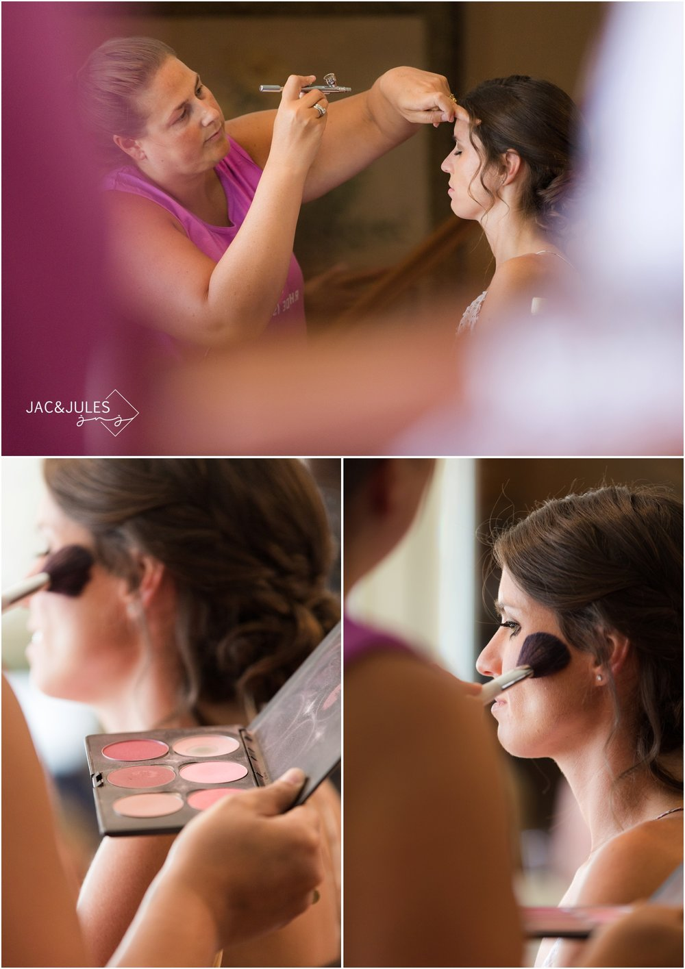 bride prep in Long Beach, NY