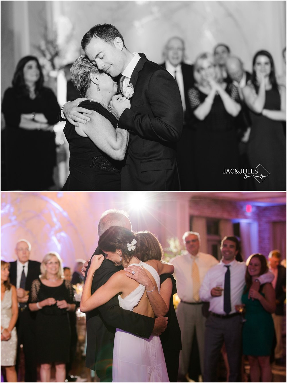 Parent dances at Fox Hollow wedding in Woodbury, NY