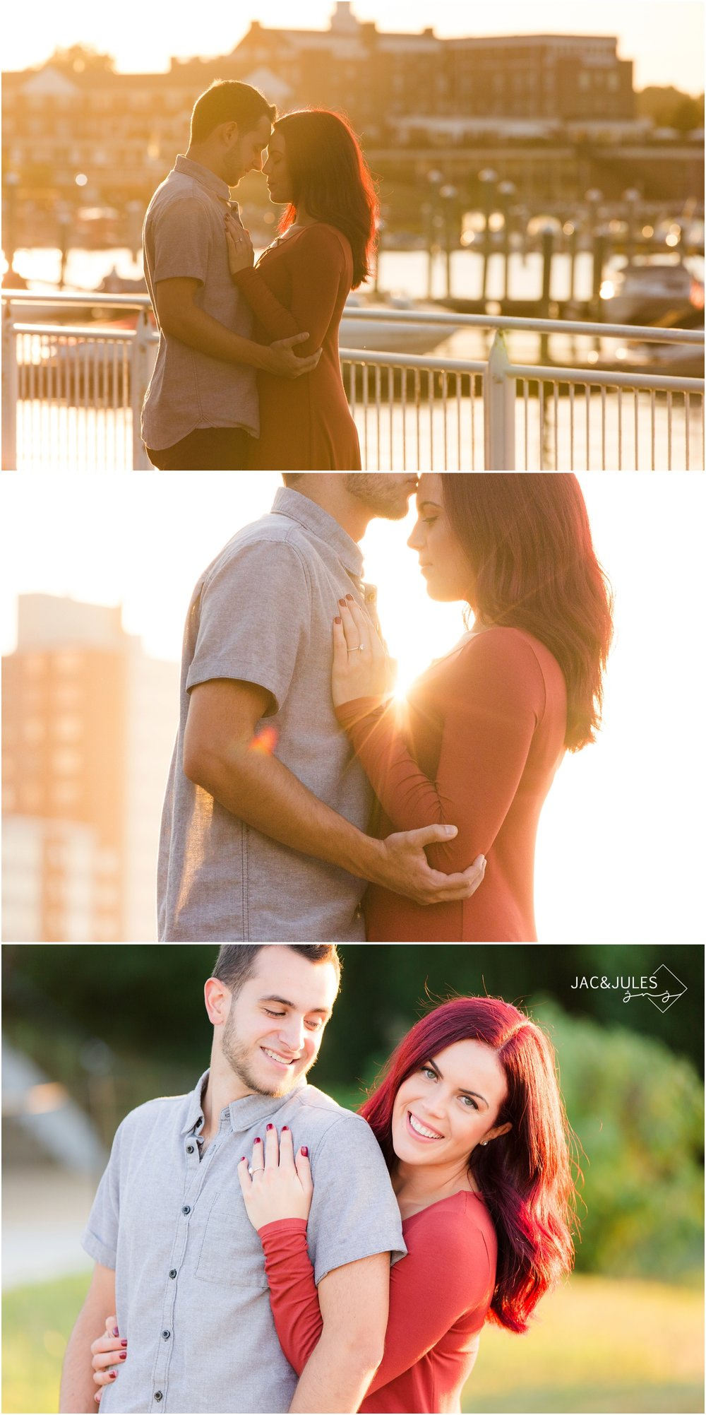 Romantic Engagement photos in Red Bank, NJ