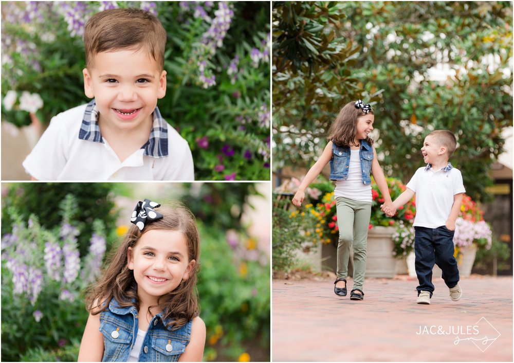 family photos in downtown freehold, nj.