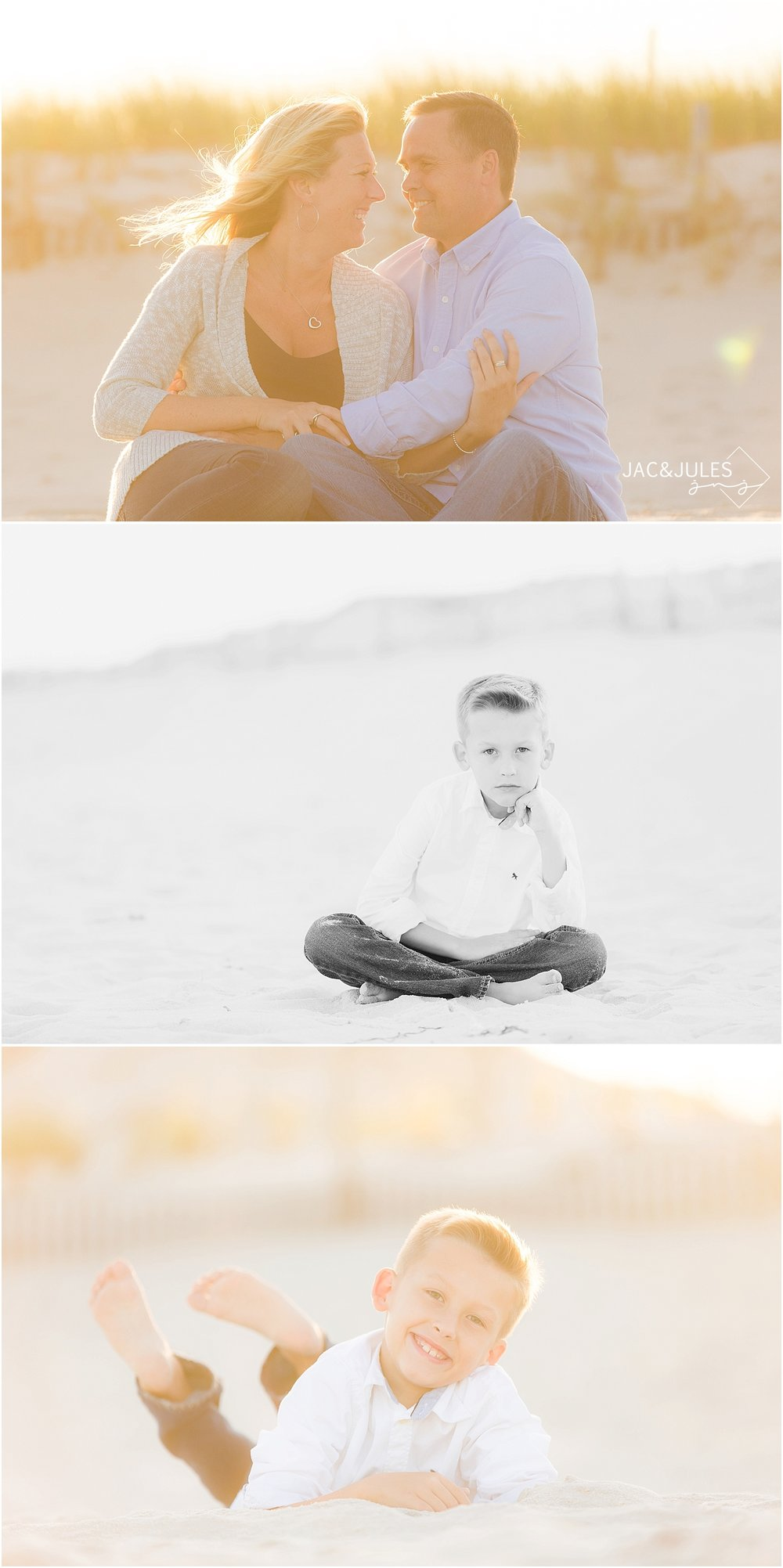 jacnjules takes natural light family beach photos in seaside nj