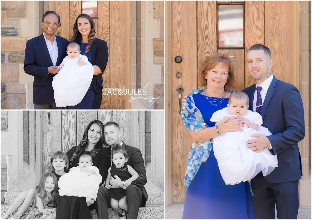 jacnjules photographs baptism in Irvington, NY