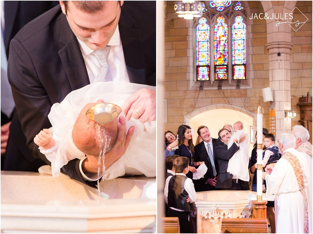 Baptism at St. Stephen's Church in Kearny, NJ.
