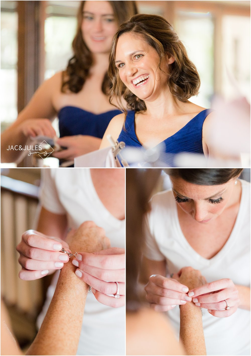 moments during Bride Prep at Mom's house in Point Pleasant, NJ.