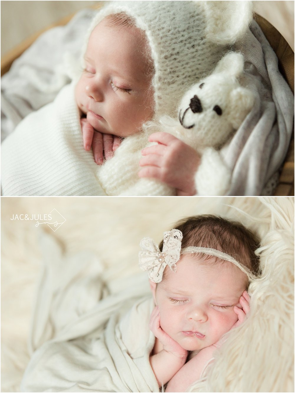 simple newborn photos of beautiful baby girl in toms river, nj.