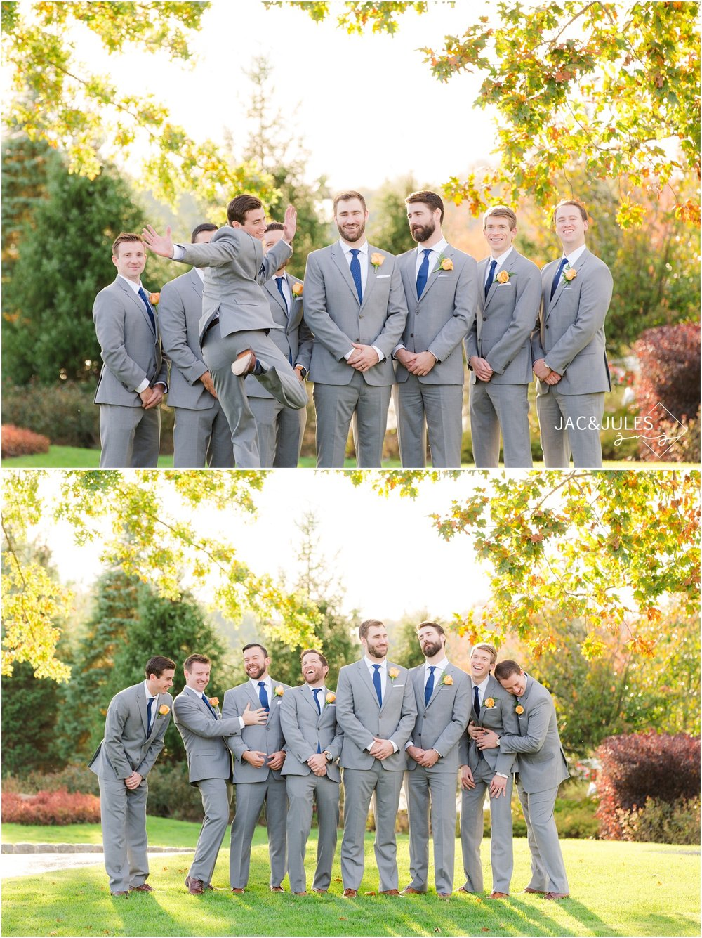 Groomsmen photos for Eagle Oaks Golf and Country Club Wedding