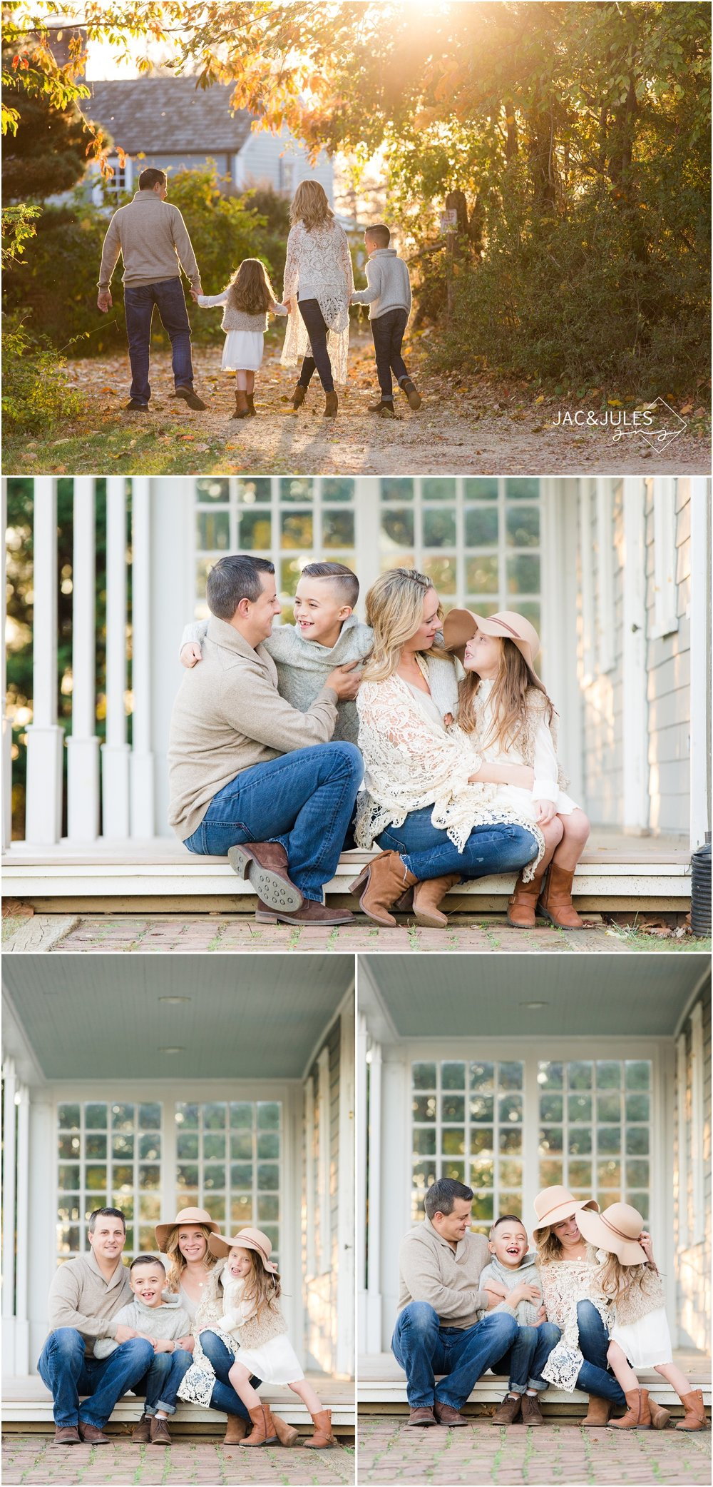 Casual family photos at bayonet farm in holmdel, nj.
