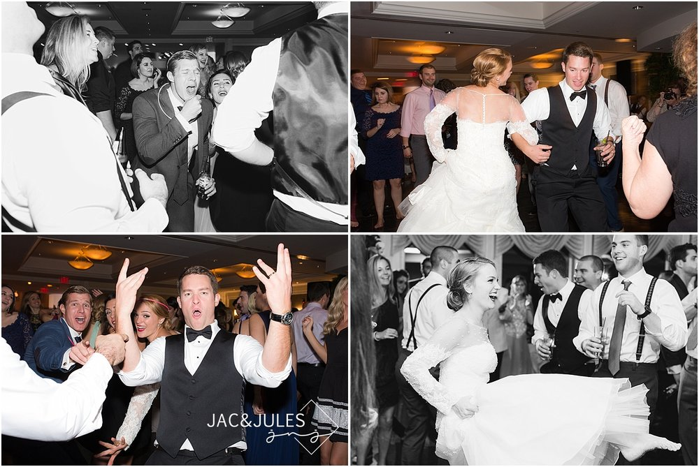 jacnjules photograph fall wedding at The Mill in Spring Lake, NJ