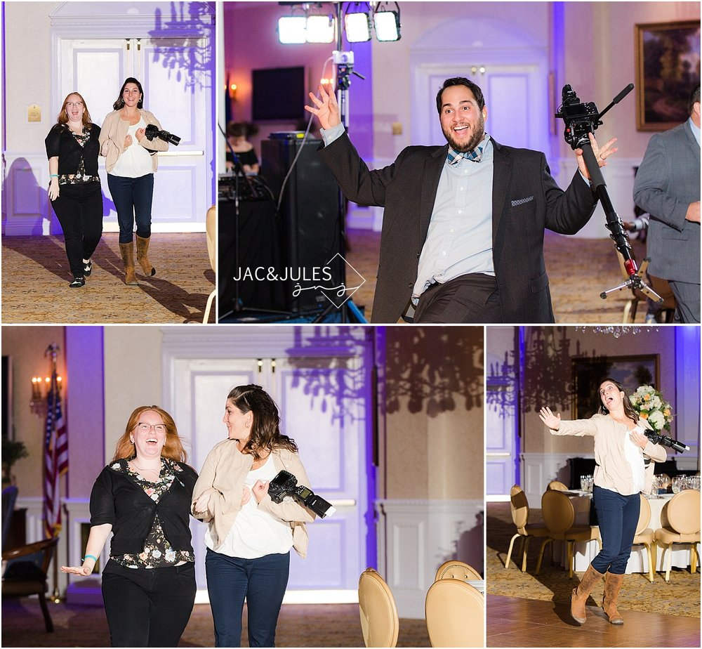 jacnjules goes behind the scenes at a wedding at Eagle Oakes Golf Club in Farmingdale NJ