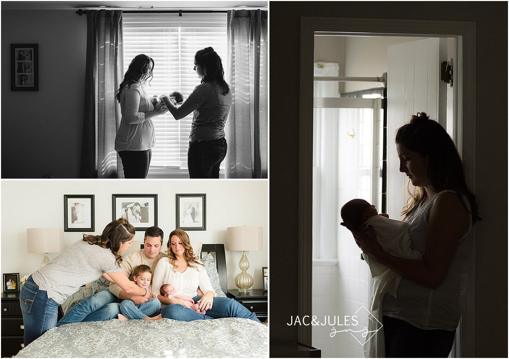 behind the scenes with jacnjules photographing newborns in their home in NJ