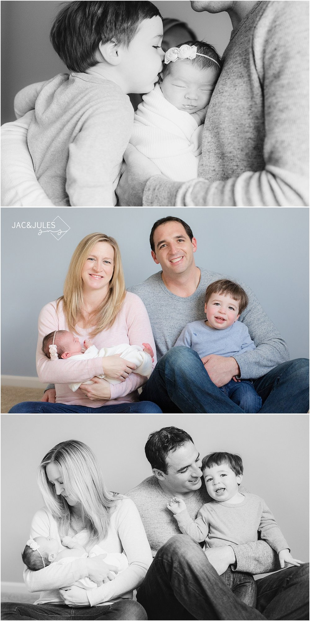 jacnjules photographs newborn baby girl in her home in Point Pleasant NJ
