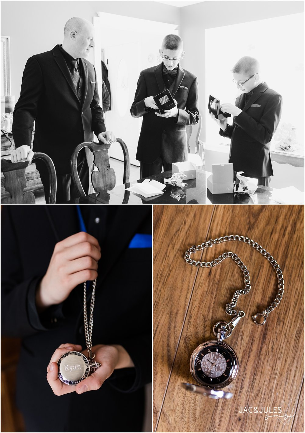 pocket watch groomsmen gift.