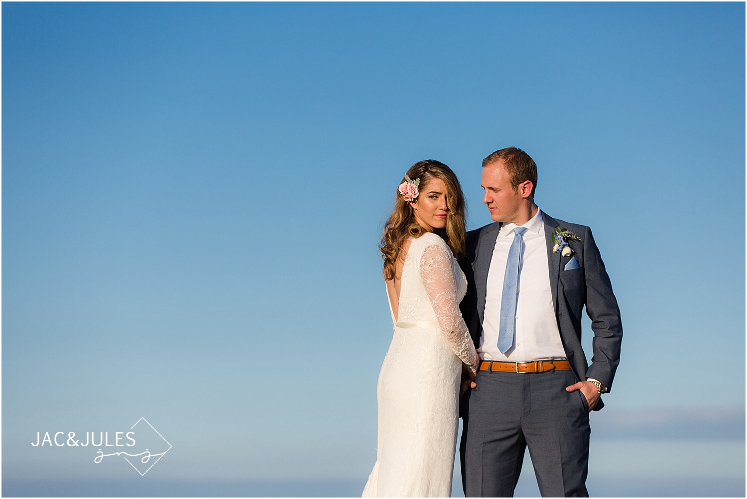 Spring Wedding Published on New Jersey Bride | Oyster Point ...
