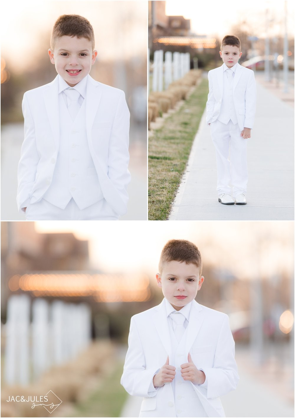 gorgeous natural light communion photos in NJ