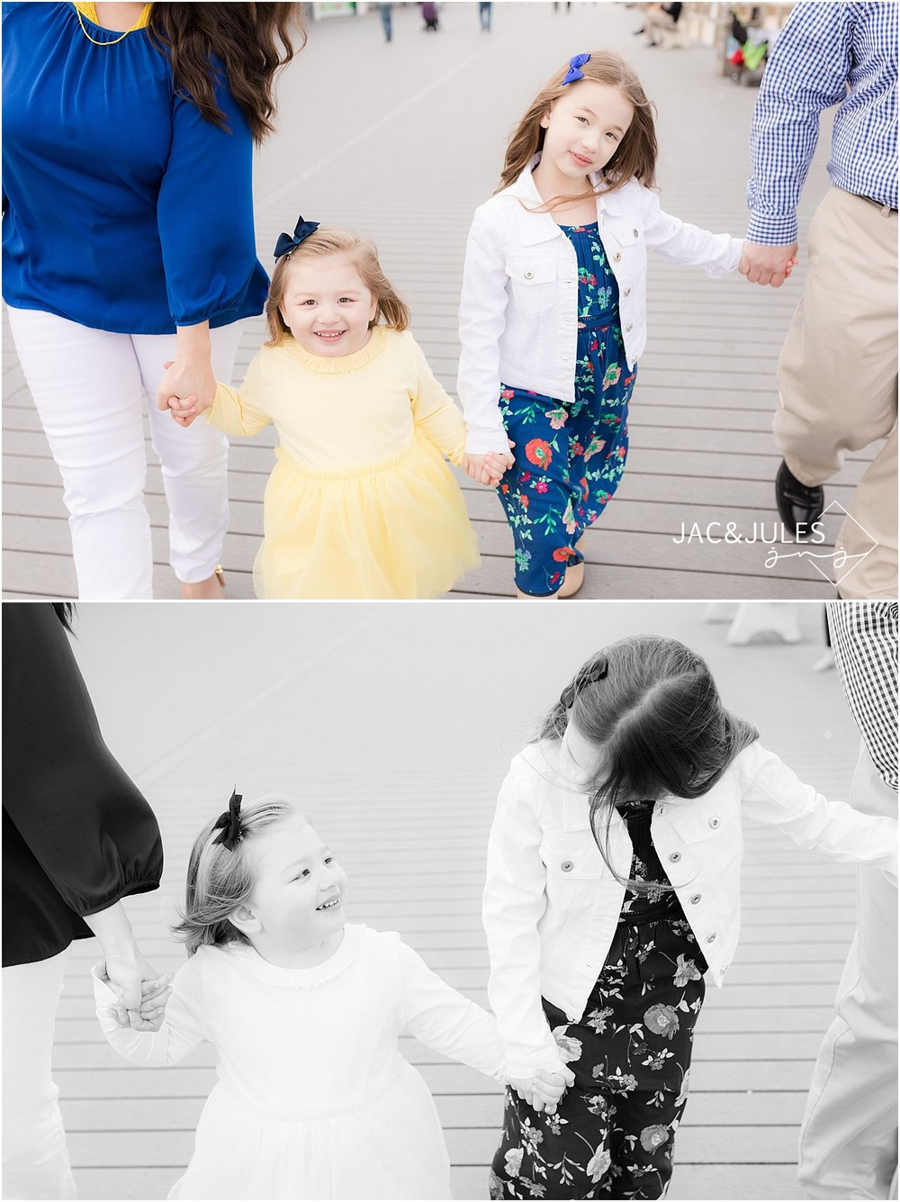 jacnjules photograph modern family photos on Point Pleasant boardwalk at the Jersey Shore