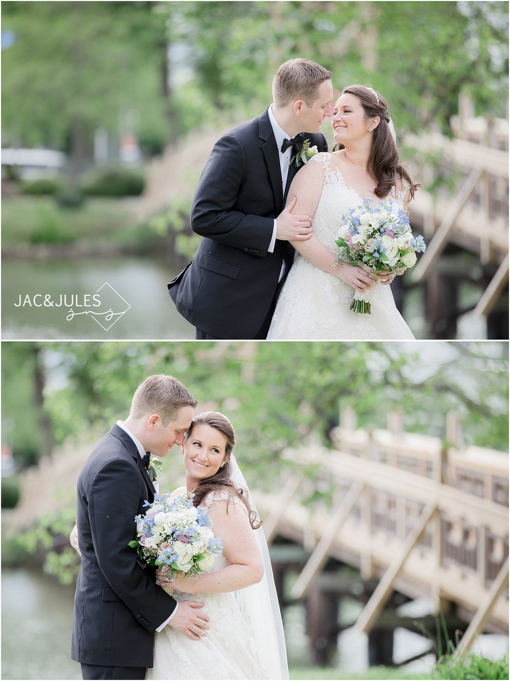 jacnjules photograph wedding at divine park in spring lake nj