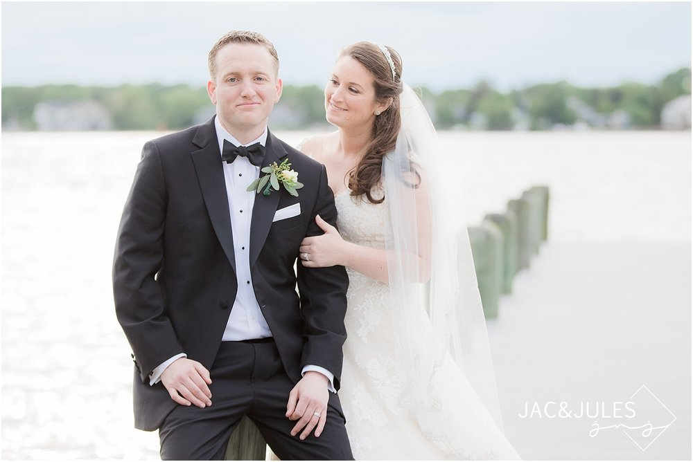jacnjules photograph a groom on the dock at clarks landing