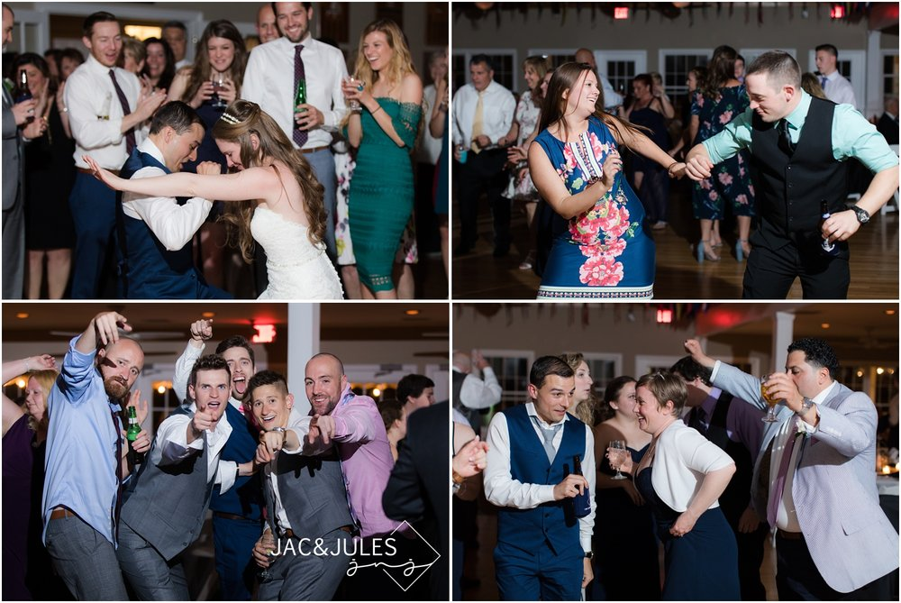 Wild party reception photos at Brant Beach Yacht Club in Beach Haven, NJ.