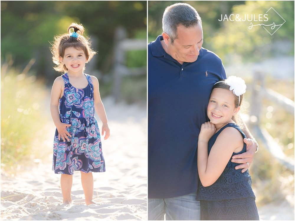 natural family photos at the jersey shore
