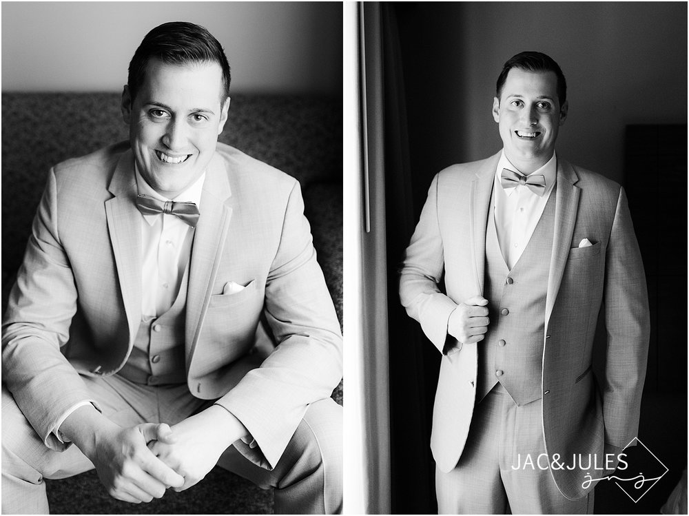 groom portraits at the ramada inn in toms river nj