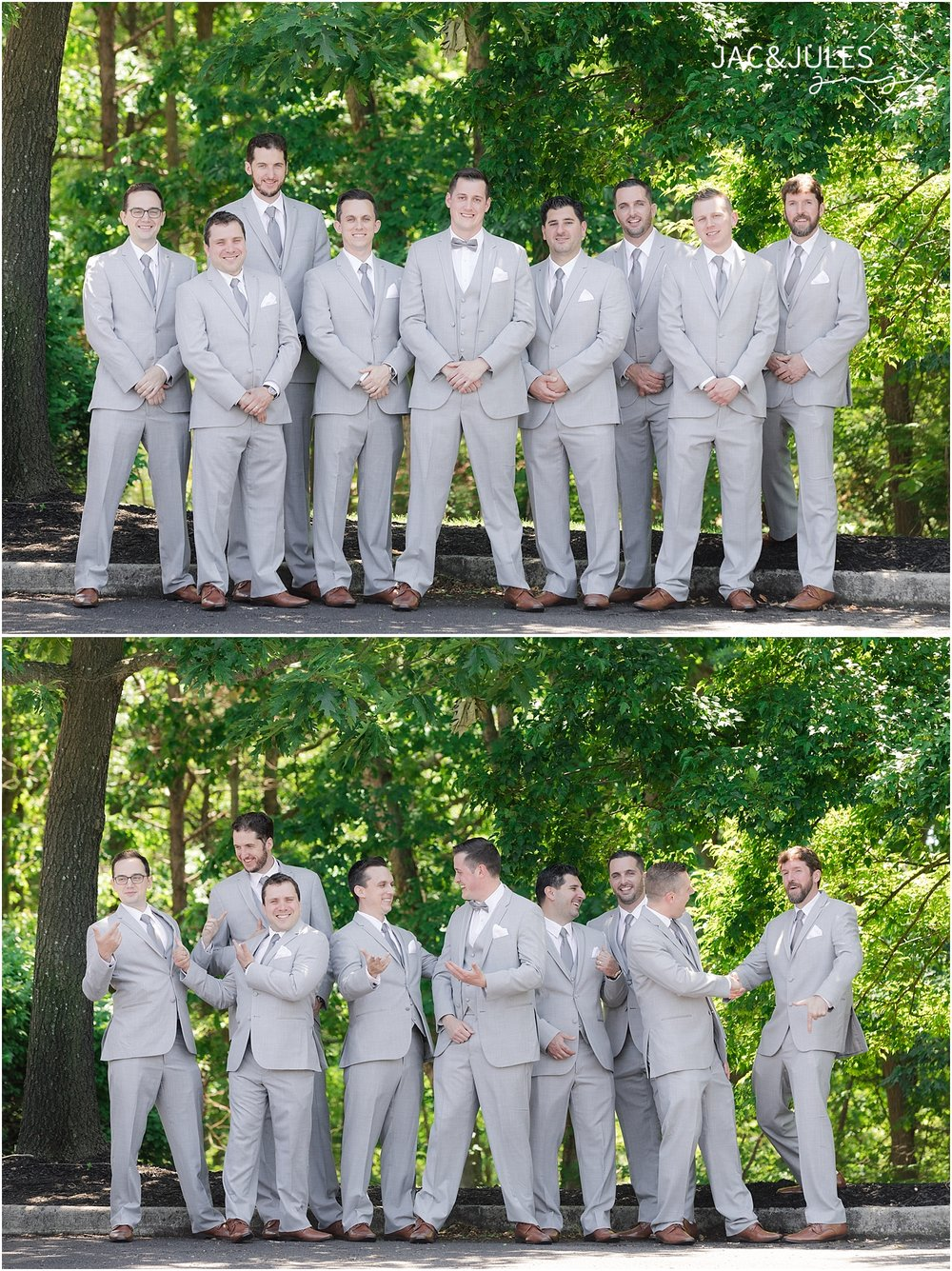groomsmen photo at ramada inn in toms river nj