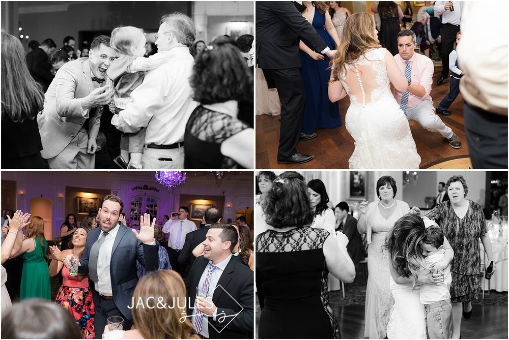 fun wild dancing at clarks landing yacht club weddings in point pleasant nj