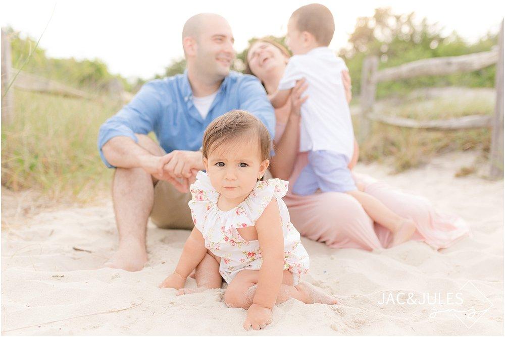 nj beach family photo