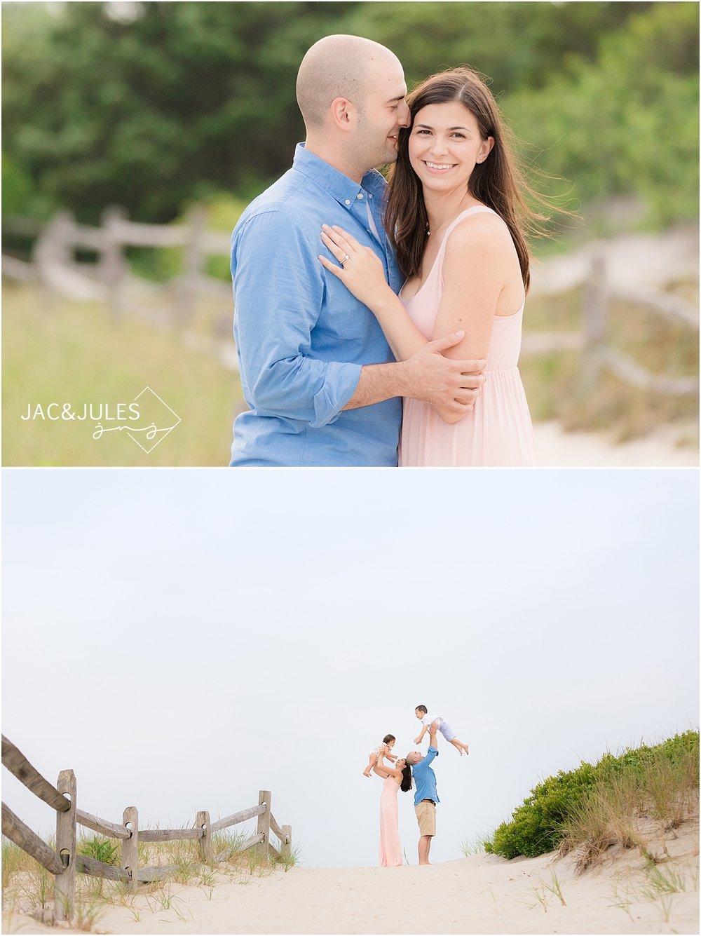 modern family photos in island beach state park nj