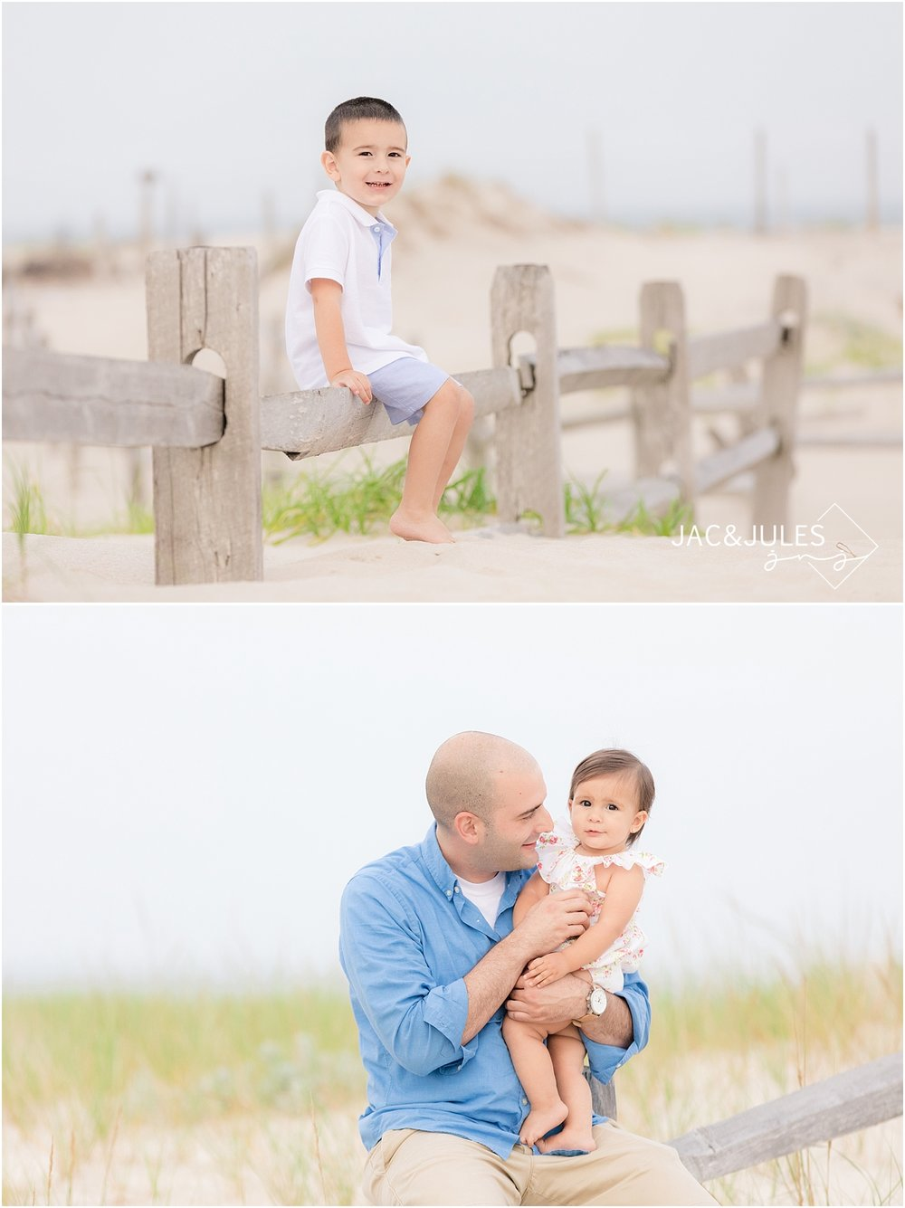candid family photography in seaside nj on the beach