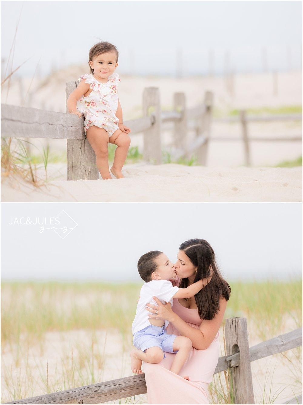 modern family beach photography