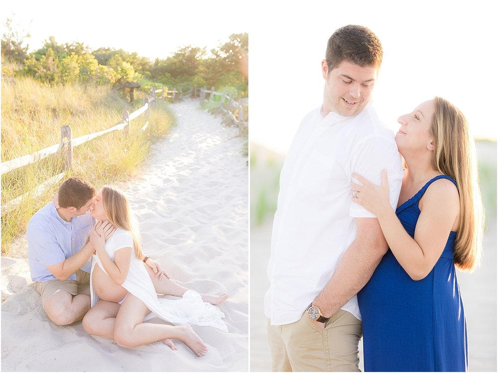 romantic maternity photos in nj