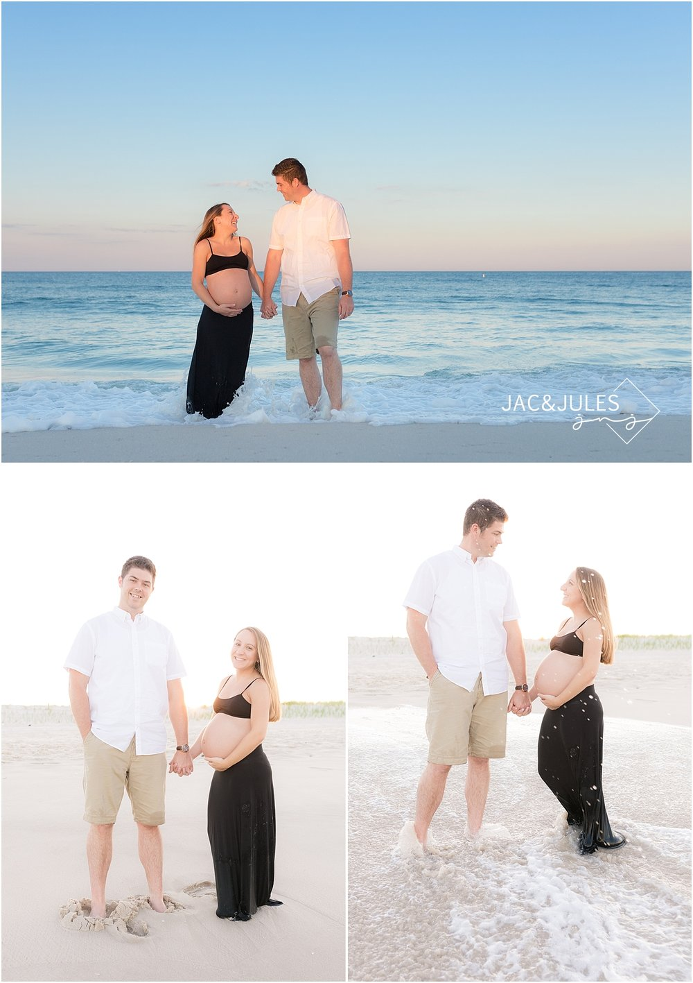 fun beach family photos in new jersey