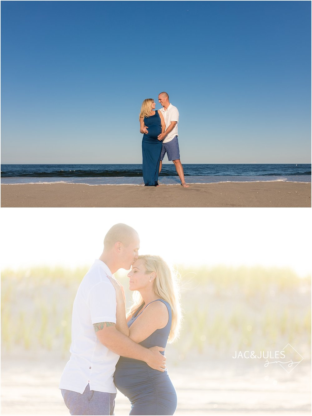 romantic maternity photos in new jersey