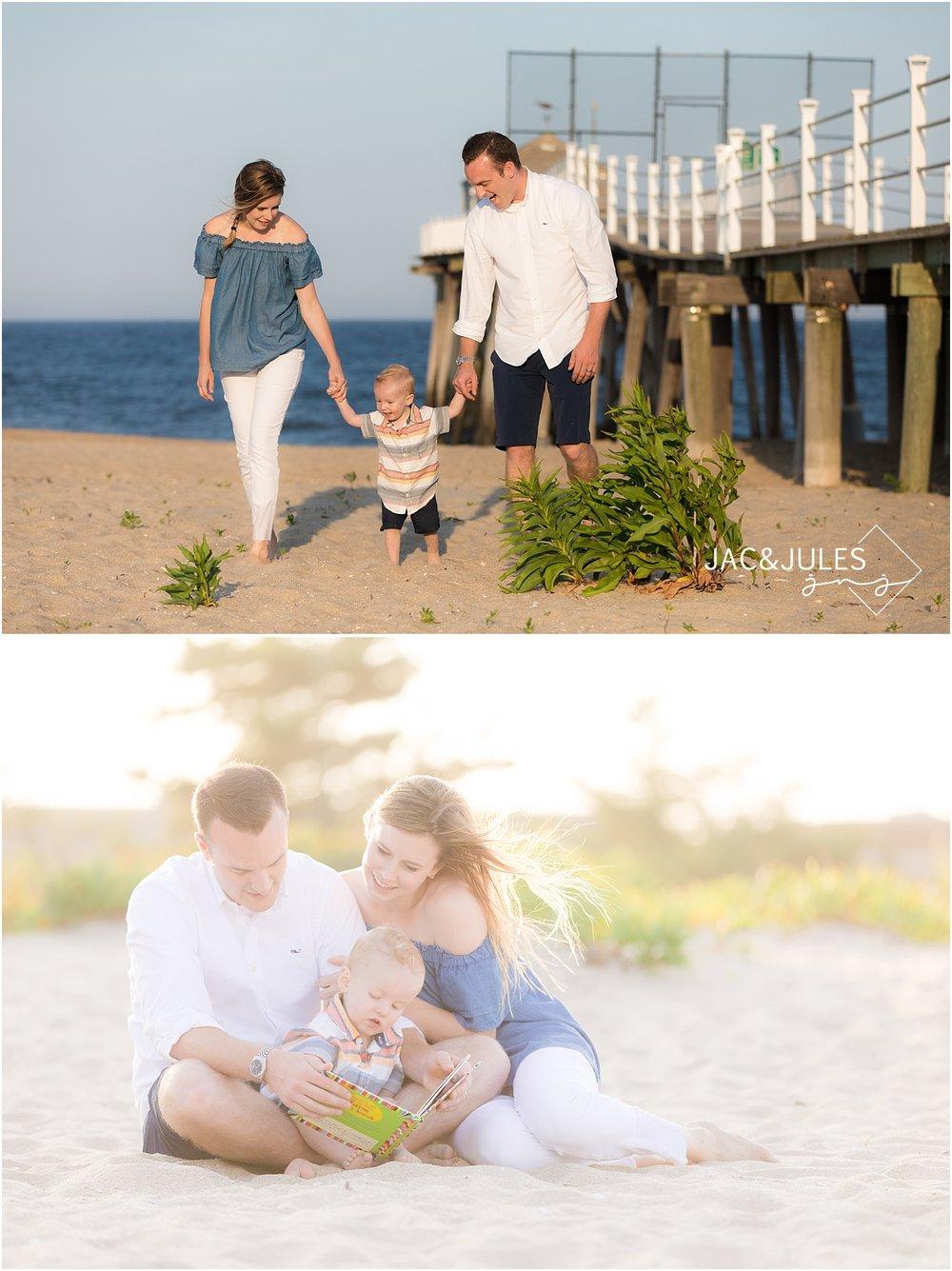 natural light family photo in belmar nj