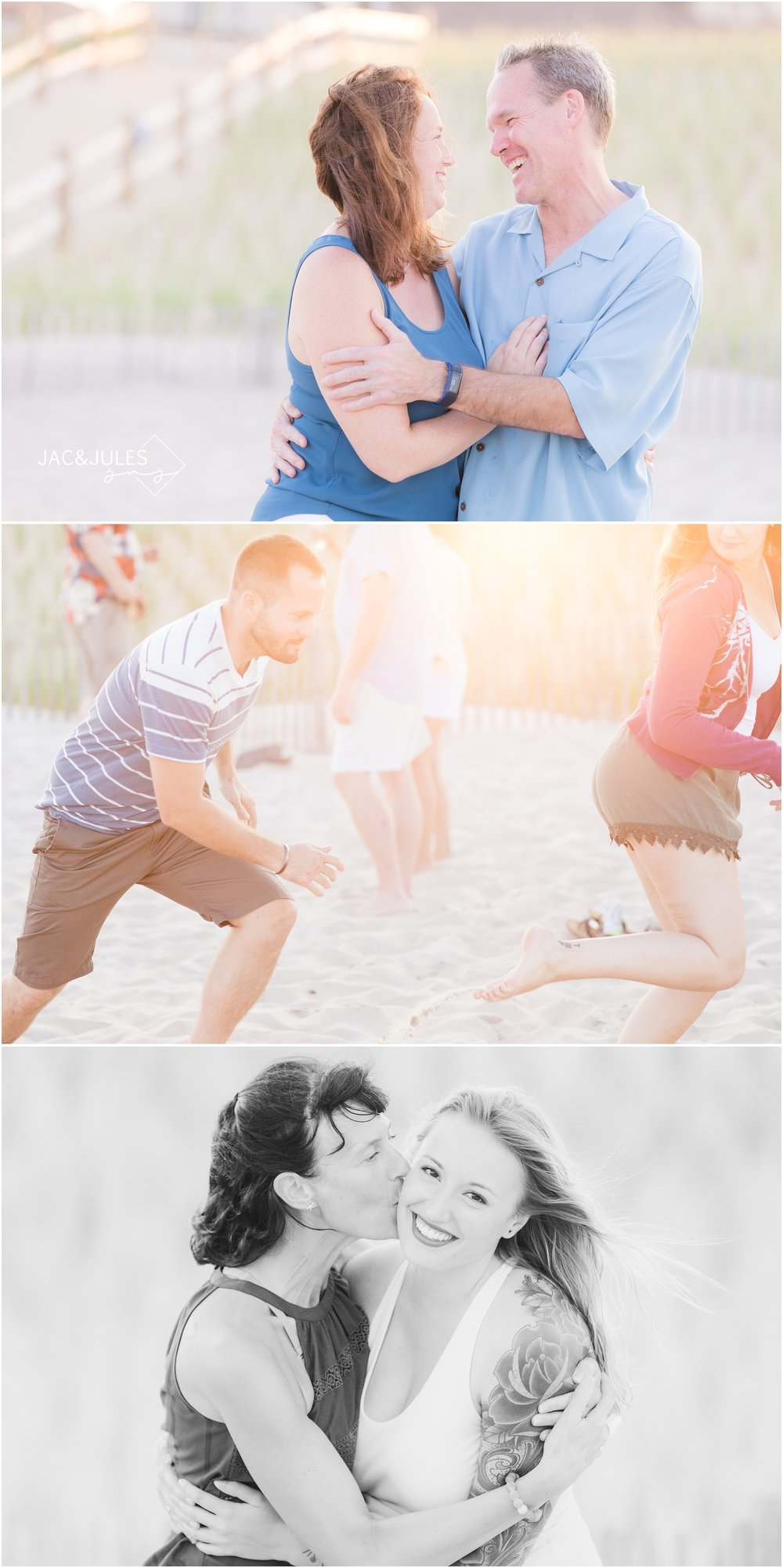Fun family photos in LBI.