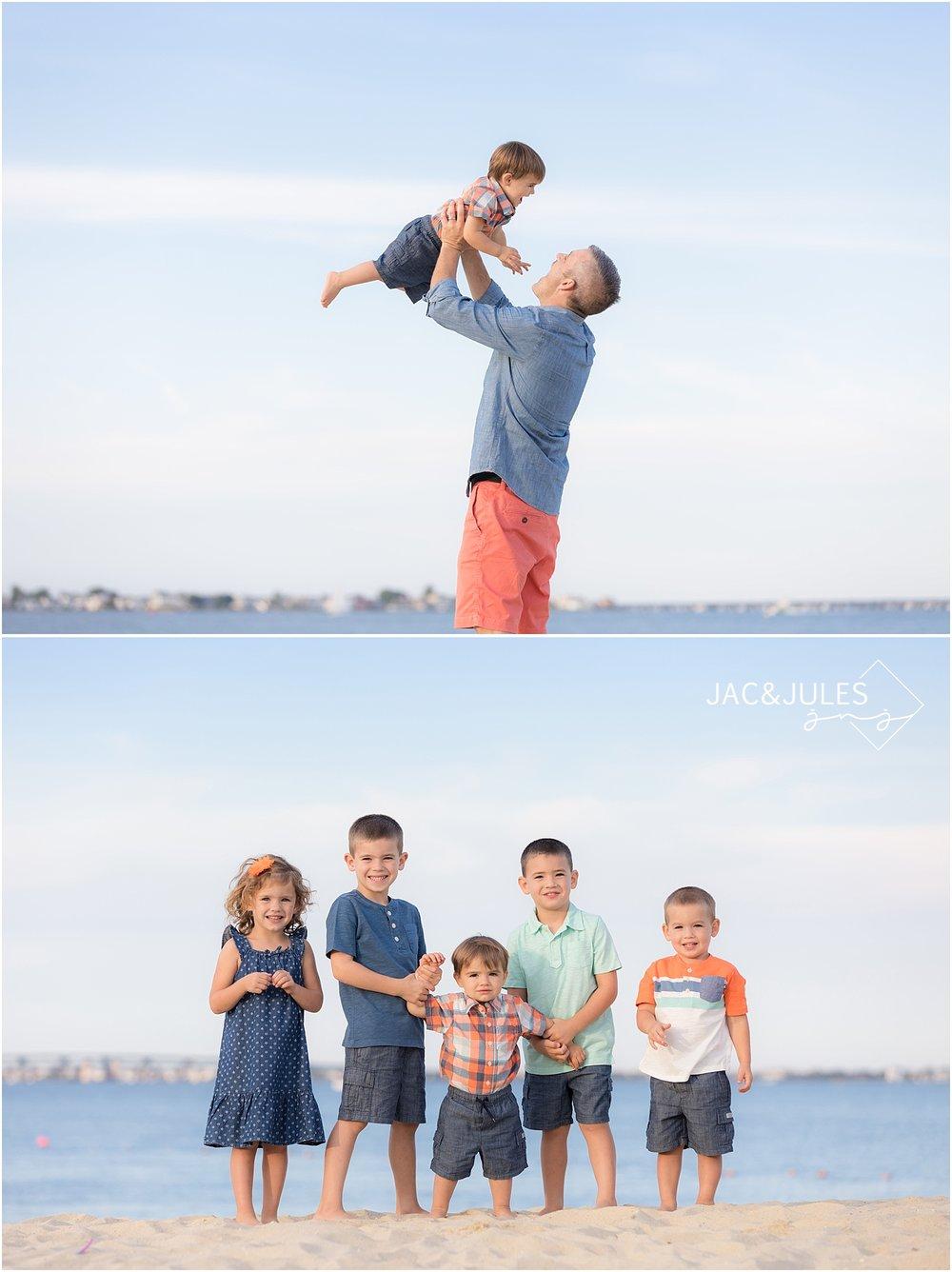 fun family photos in ocean gate nj