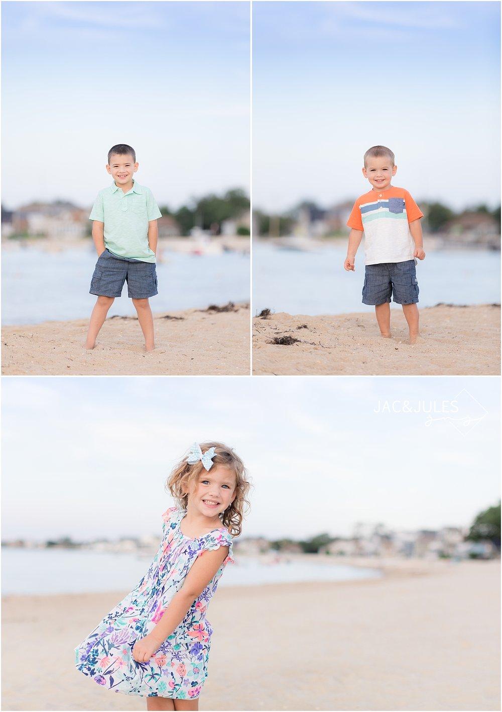 children portraits in ocean gate nj