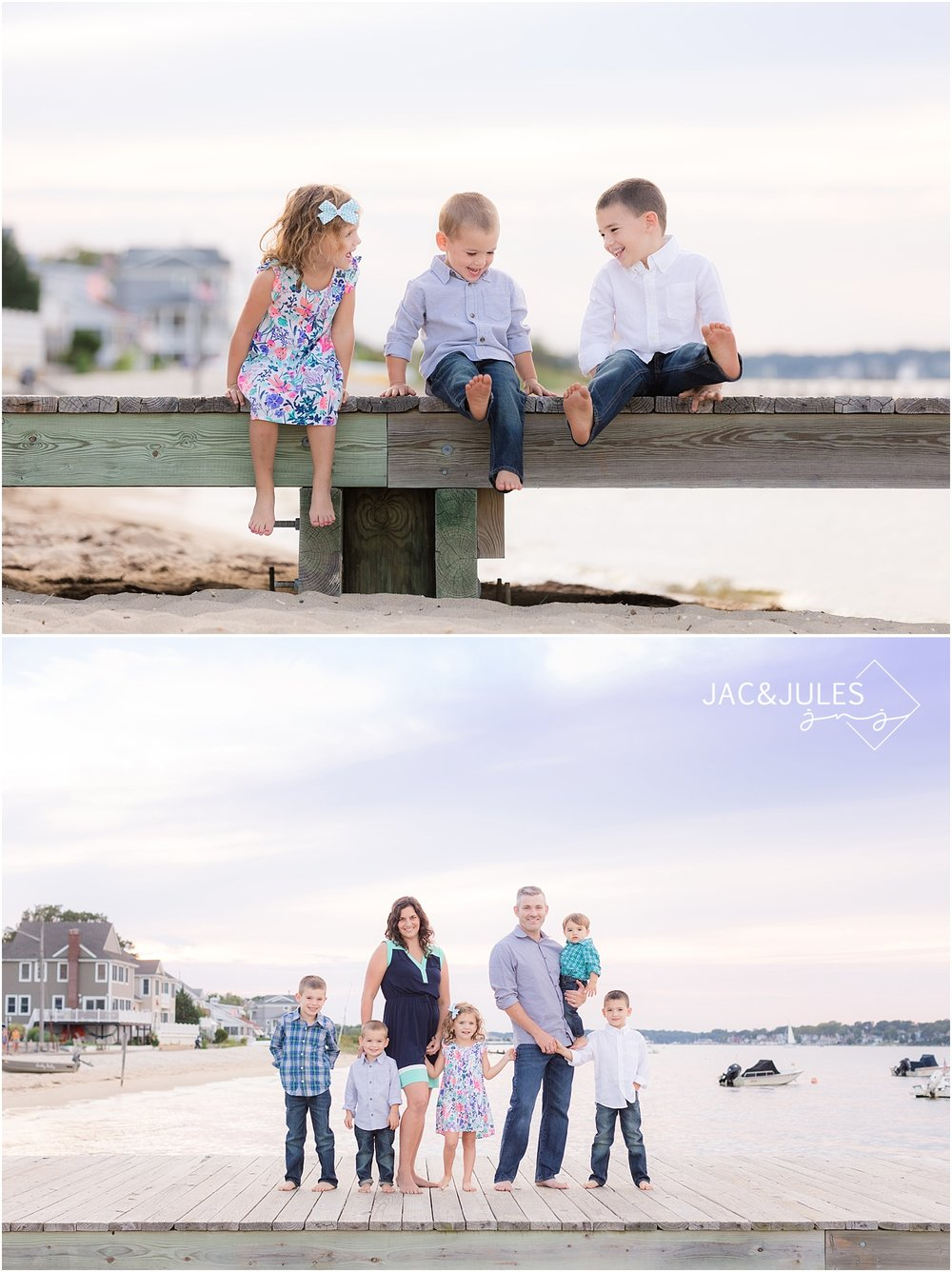 candid family photos in ocean gate nj