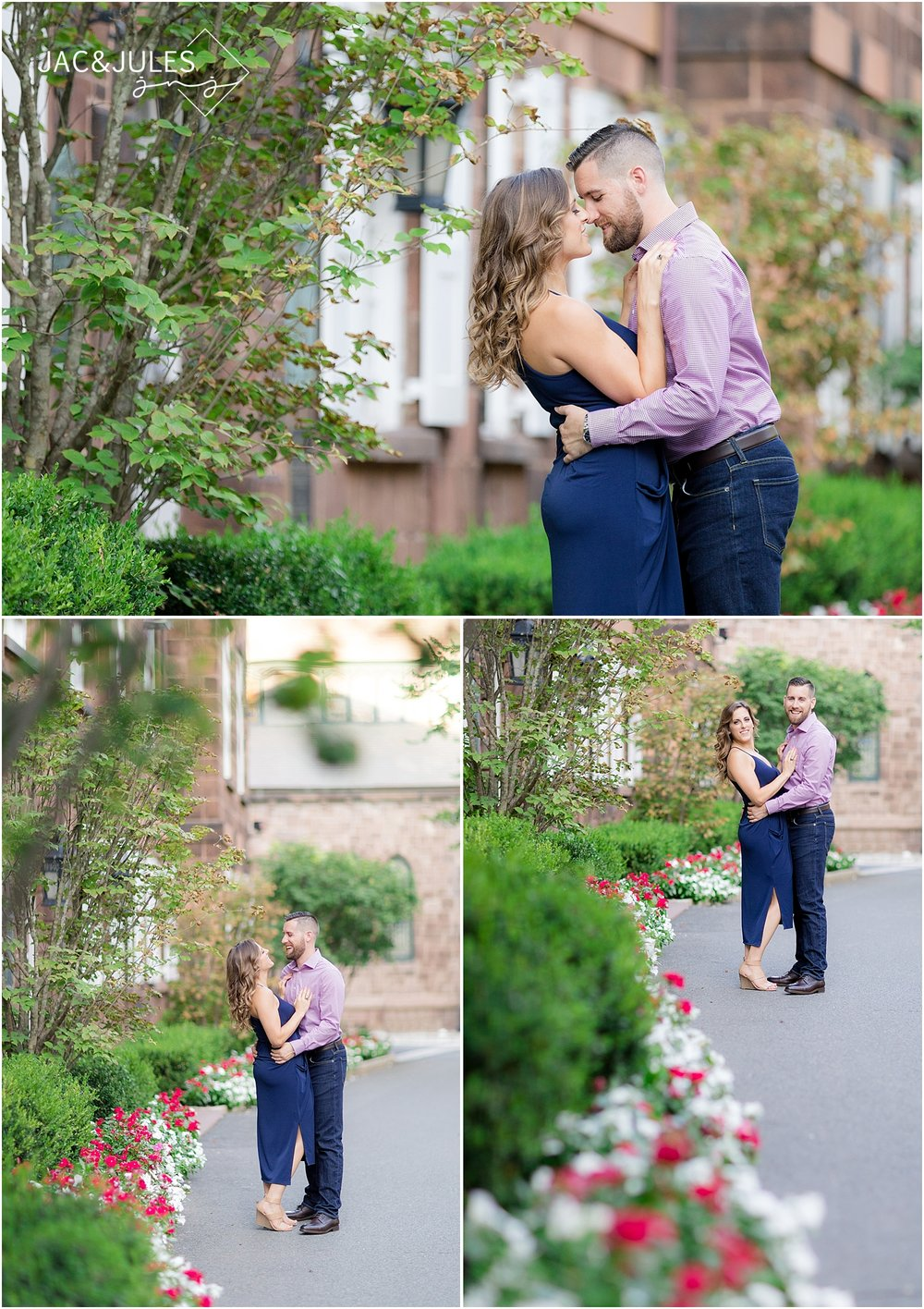natural light engagement photos in new brunswick nj