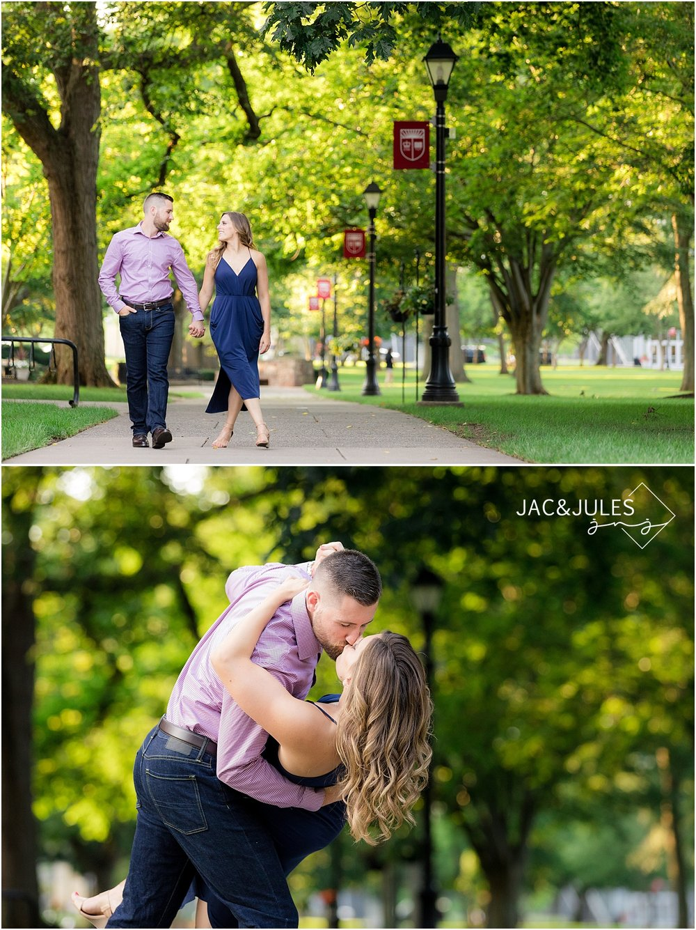 rutgers engagement photos