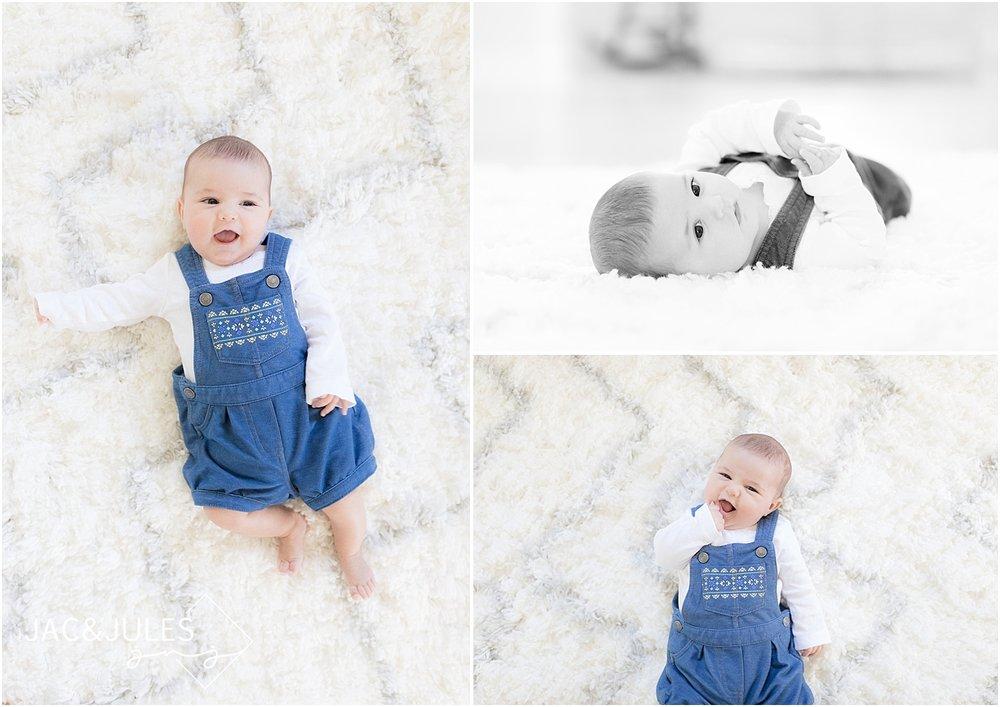 baby photos in home in oceanport, nj