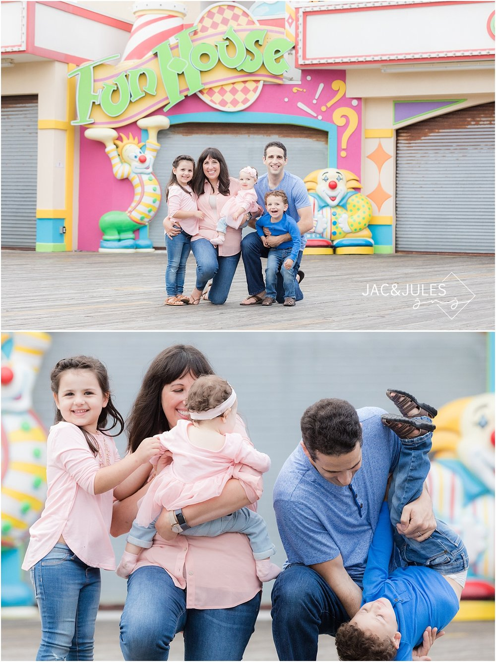 jacnjules photograph fun family photos in point pleasant nj on the boardwalk