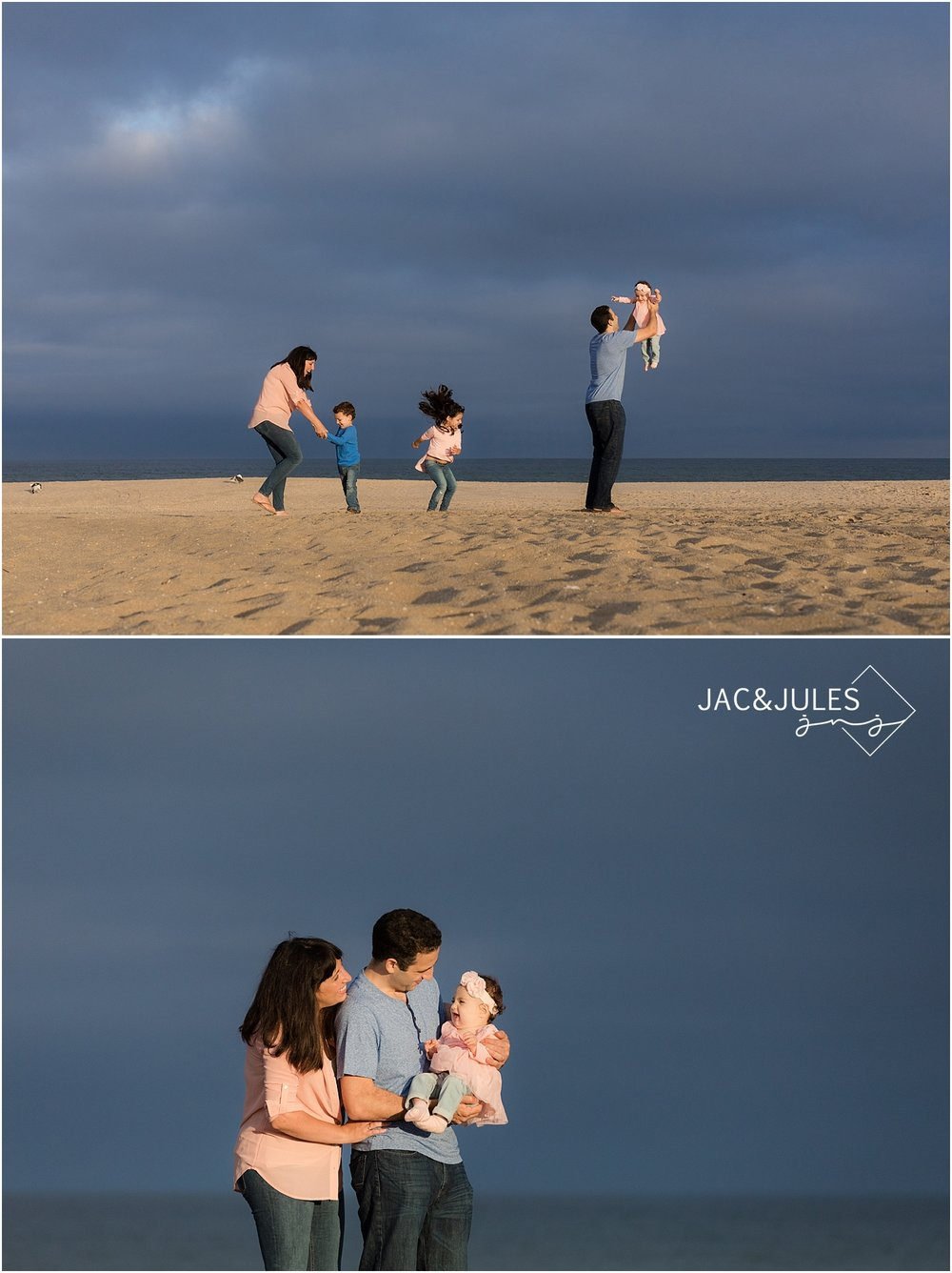 jacnjules photographs family before a thunderstorm in point pleasant nj