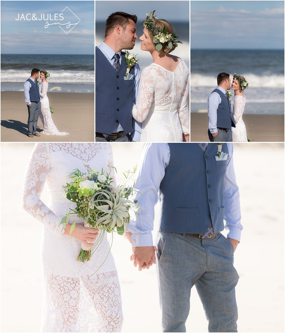 romantic wedding photography in sea girt nj