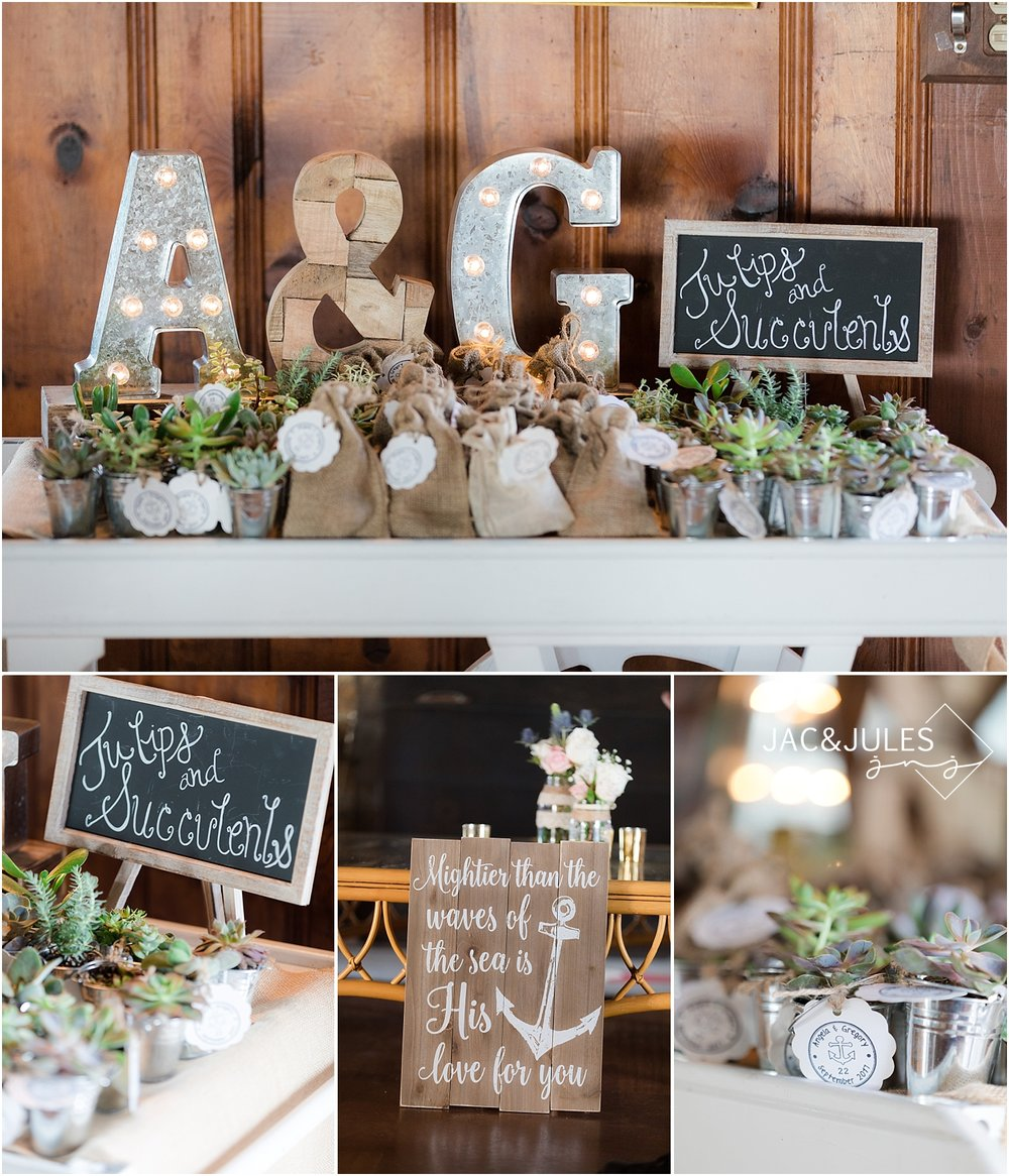rustic summer wedding florals in shrewsbury nj