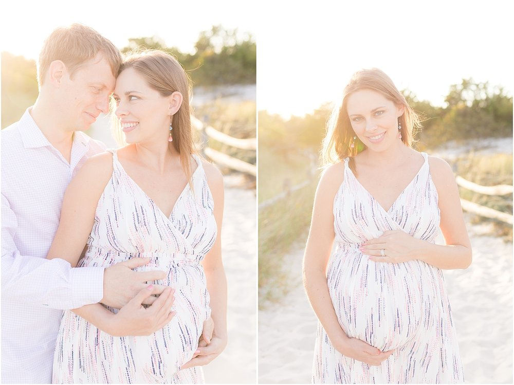 IBSP maternity photo in natural light