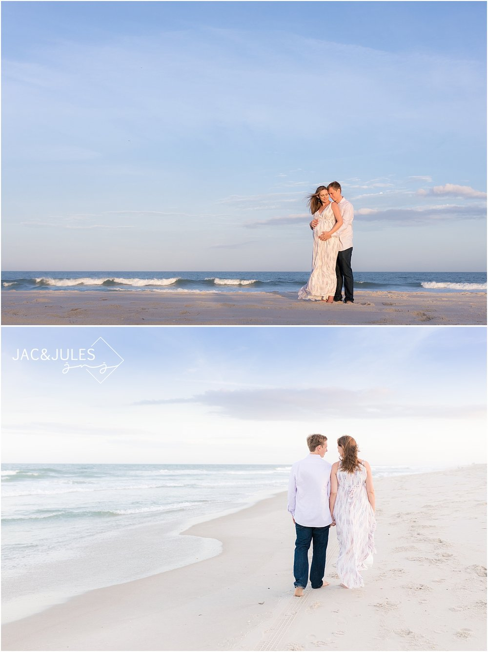 beach maternity pictures at IBSP