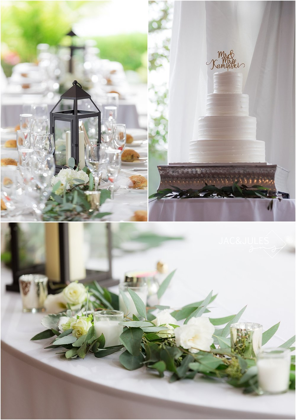 reception details at windows on the water at frogbridge nj