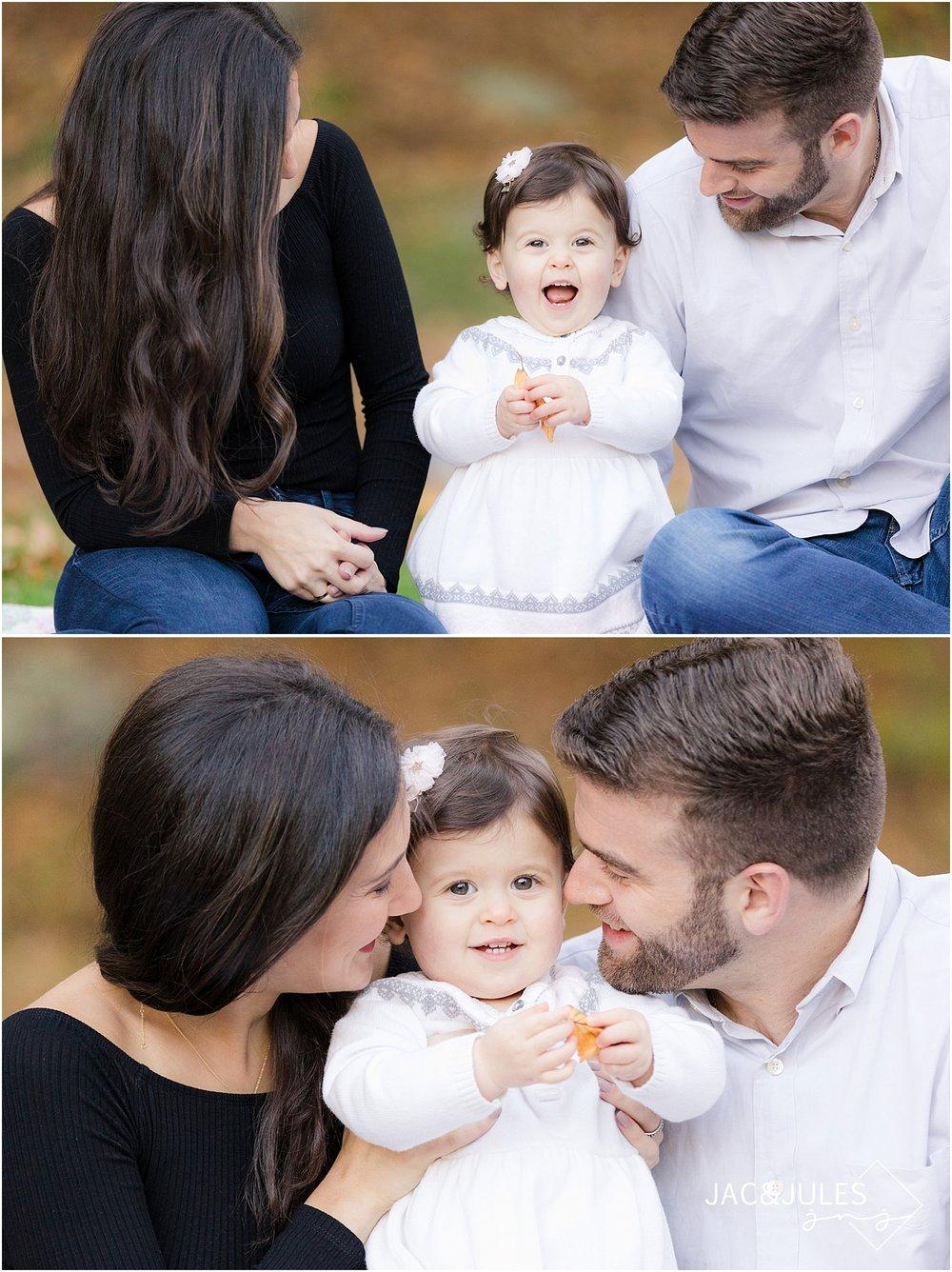 fun family pictures in mountain lakes NJ